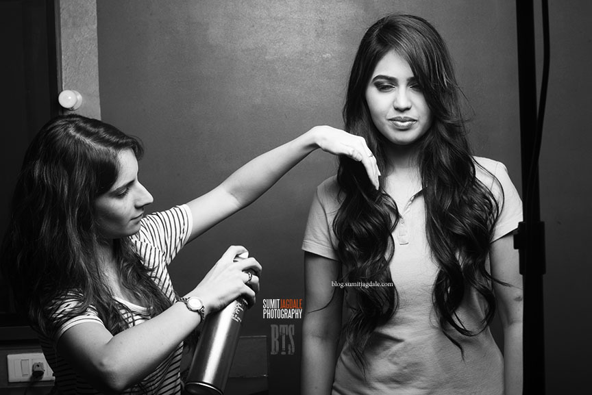 Behind the Scenes at Sumit Jagdale Photography