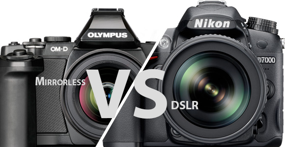 Mirrorless and DSLR Cameras