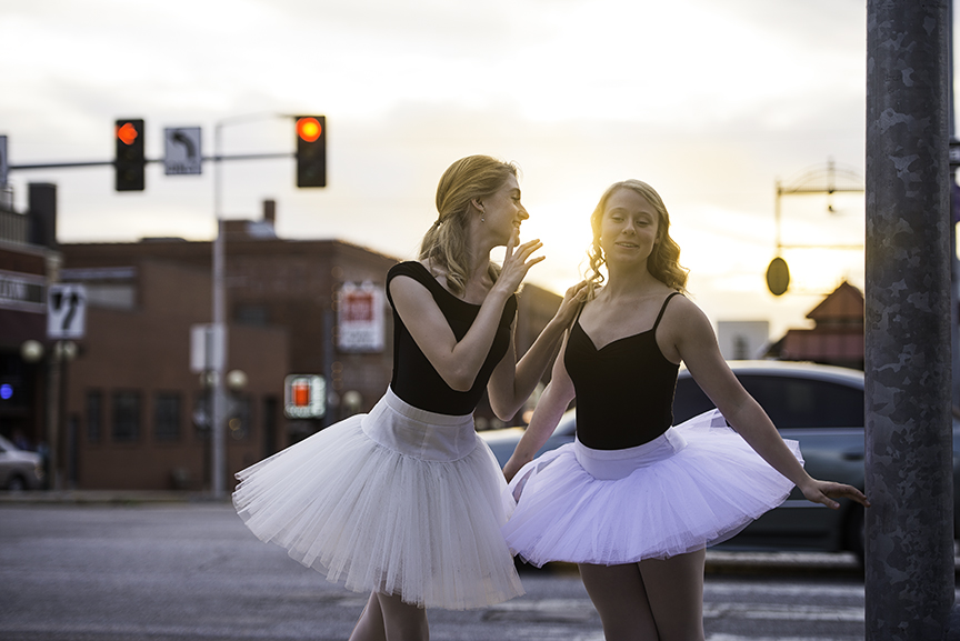 Downtown Lincoln Haymarket - Ballerinas