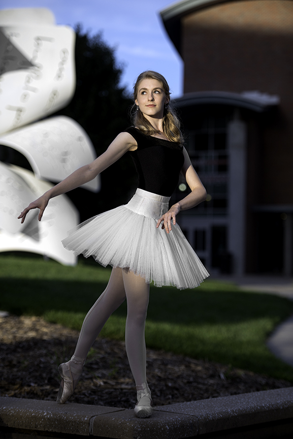 Ballet Portrait - UNL Sculpture